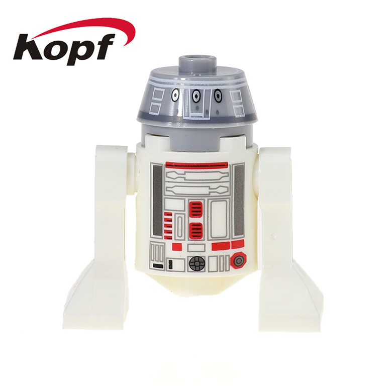 20Pcs Super Heroes R2D2 BB8 Dolls R490 Star Wars Smart Robot C110p RSJ2 Classic Bricks Building Blocks Children Gift Toys XH 525