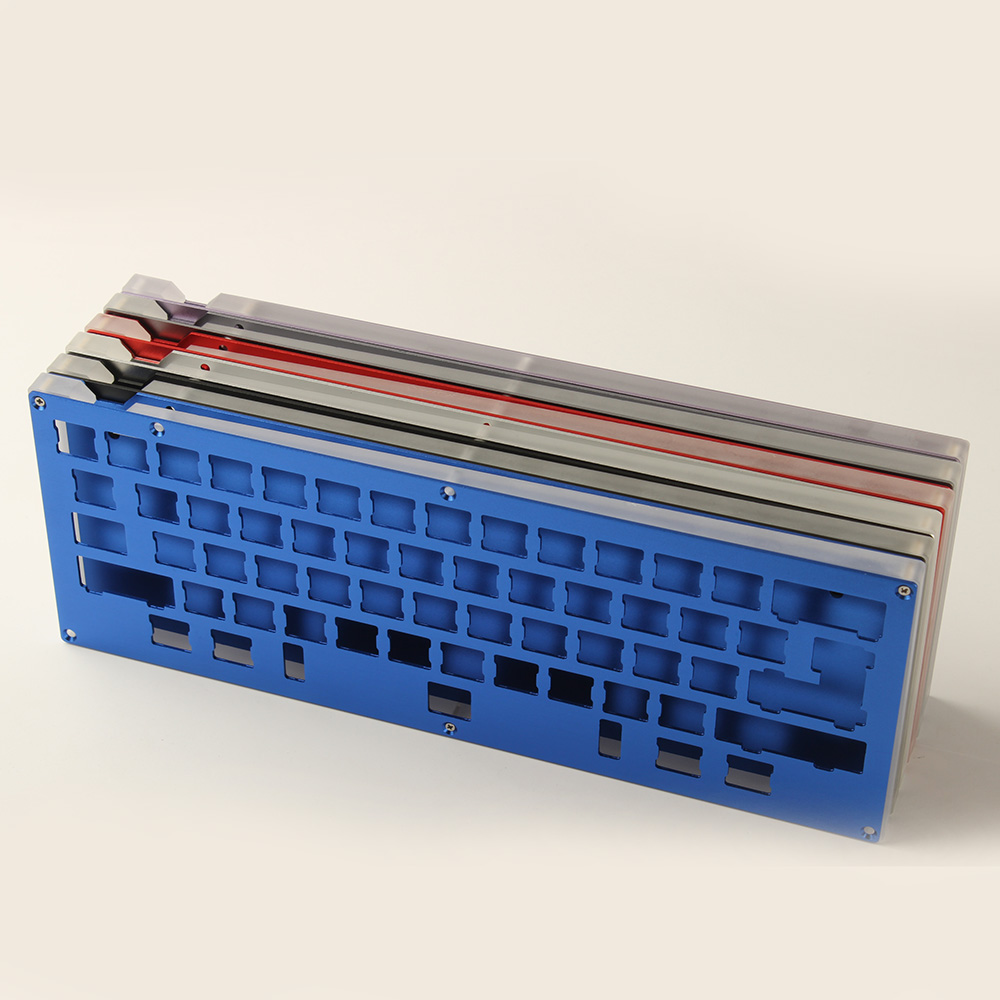 Cnc Aluminum Case Plate Stabilizers Diy Kit For Hhkb Layout Mx