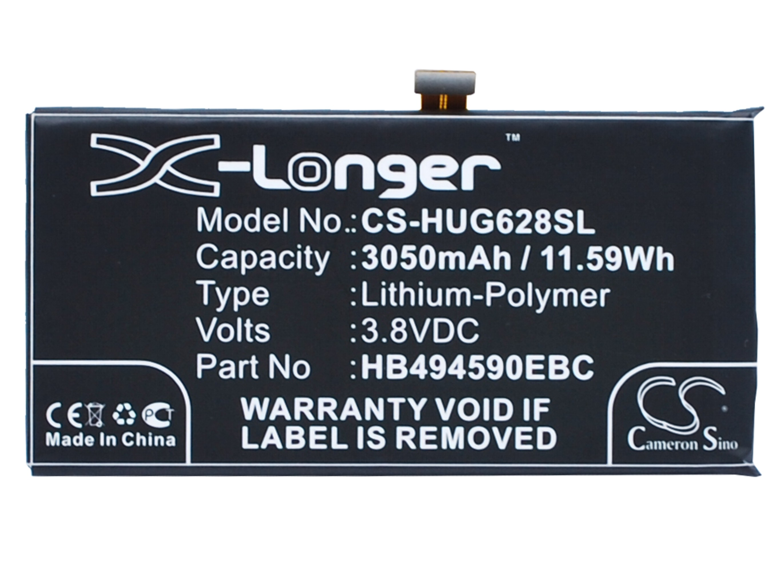 Battery HB494590EBC 7-Plk-Ul00 Honor Huawei 3050mah Ce For Ascend Cameron G628 High-Quality