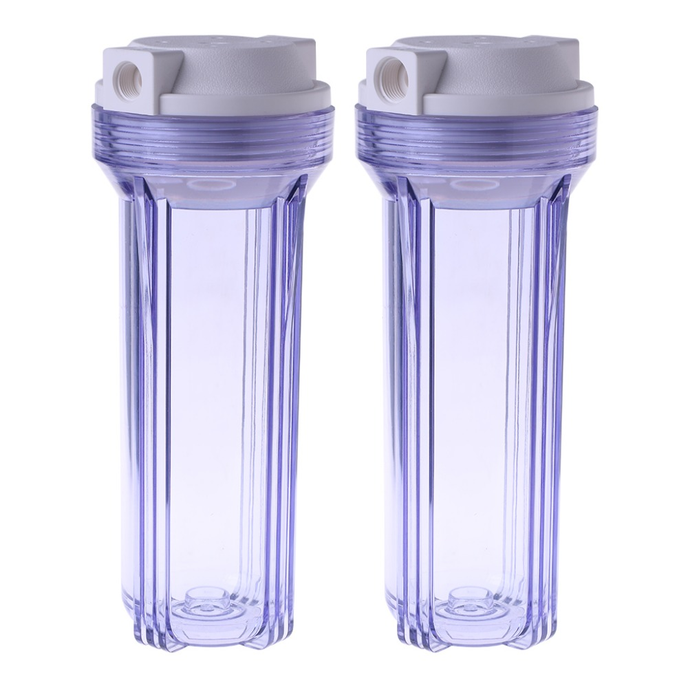 Water Treatment Appliance Parts Knowledgeable Transparent Water Purifier Filter Bottle 4/2 Point Interface Clear Filtration Complete In Specifications Water Filter Parts