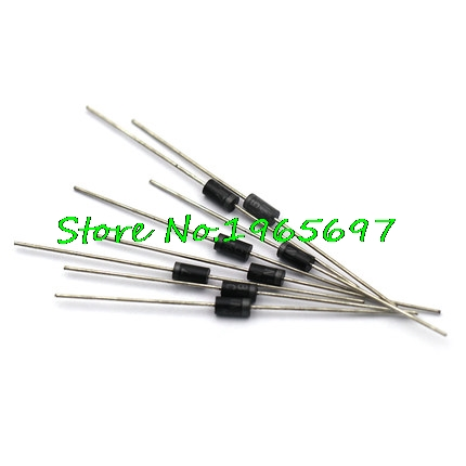 100PCS Rectifier <font><b>Diode</b></font> <font><b>1N5817</b></font> 1N5819 1N5399 1N4937 1N4004 1N4001 1N4007 UF4007 HER107 FR207 FR157 FR107 RL207 DO-41 In Stock image