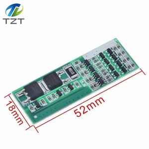 Image 2 - 4S 8A Polymer Li ion Lithium Battery Charger Protection Board For 4 Serial 4pcs 3.7 Li ion Charging Protect Module BMS