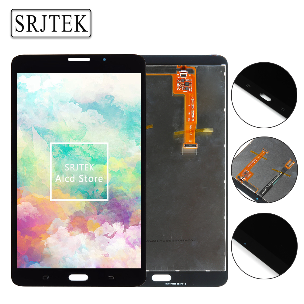 Srjtek Sliver Gold for Samsung Galaxy Tab A 7.0 2016 SM-T280 SM-T285 T280 T285 LCD Display Touch Screen Digitizer Assembly Parts srjtek 8 inch for samsung galaxy note 8 n5100 3g lcd display panel touch screen digitizer assembly