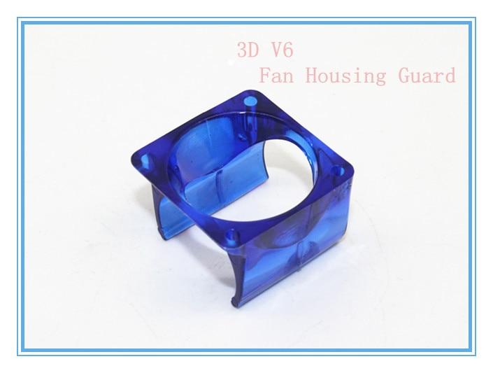 3D printer parts DIY Reprap 3D V6 Injection Moulded Fan Duct Injection Molding Fan Housing Guard