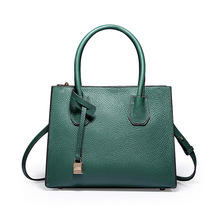Ladies Luxury Designer Bag Genuine Leather Handbag Tote Bags for Women Black Crossbody High Quality Fashion 2018