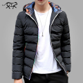 2017 New Arrival Winter Jacket Men Casual Warm Hooded Coats Fashion Men's Jackets and Coats Brand Clothing Parkas for Male M-5XL