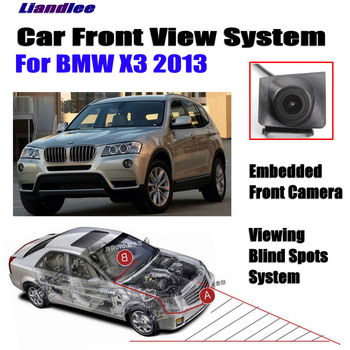 Car Front View Camera For BMW X3 F25 2013 Not Rear View Backup Parking Camera HD CCD Night Vision crazy sale mini ccd coms hd night vision 360 degree car rear view camera front camera front view side reversing backup camera