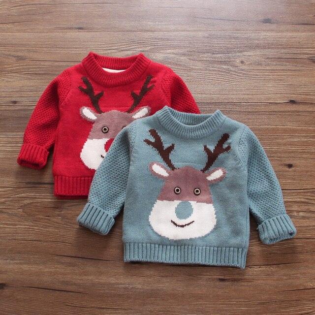Бесплатная доставка Фея девушки одежда осень и зима ребенок плюс бархат пуловеры кашемировый свитер мультфильм детские новогодние костюмы