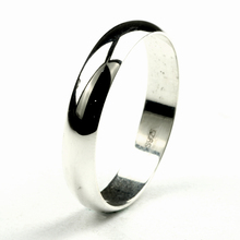 Фотография Real Pure 925 Sterling Silver Rings For Women And Men Simple Ring Smooth High Polishing Process Best Gift For Lovers Couples