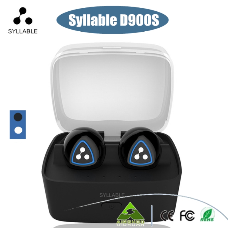 5PCS/Lot DHL Free Syllable D900S Bluetooth Stereo Earphone Wireless Music Handsfree Mini Earbud fone de ouvido With Microphone bluetooth earphone wireless music headphone car kit handsfree headset phone earbud fone de ouvido with mic remax rb t9
