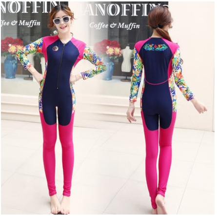 3mm thick women long-sleeved wetsuit surf clothing Lady Neoprene Waterproof Diving Suit Winter swim Surfing Snorkeling Swimwear 2018 new women s postpartum swimwear ladies sunscreen clothing ladies swimwear suit surf clothing diving clothing swimwear vy715