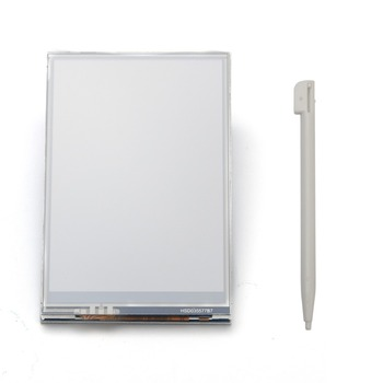 3.5 LCD  Screen Display + Clear Case for Raspberry Pi 2 Pi 3 model B New flat panel display