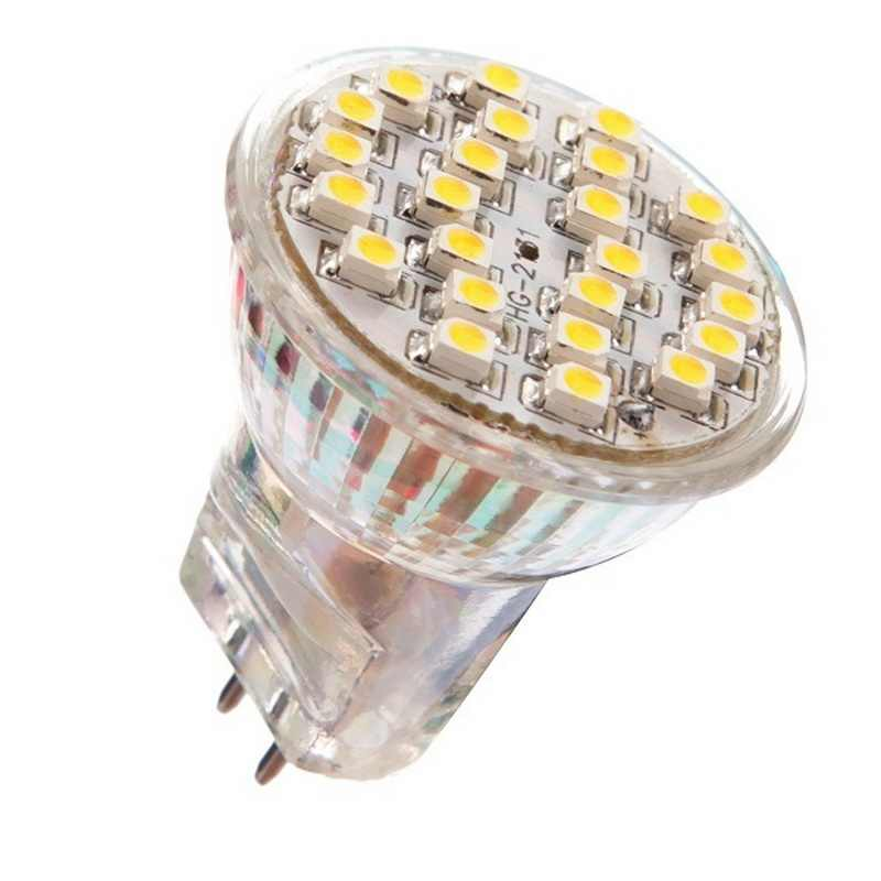 MR11 3528 LED 24 SMD 12V Energy Saving Spot Light Lamp Bulb Warm White Light Home Office Lighting