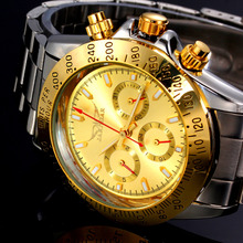 Mens Watches Top Brand Luxury Automatic Mechanical Watch Clock Jaragar 2016 New Series Auto Date Golden case relogio masculino