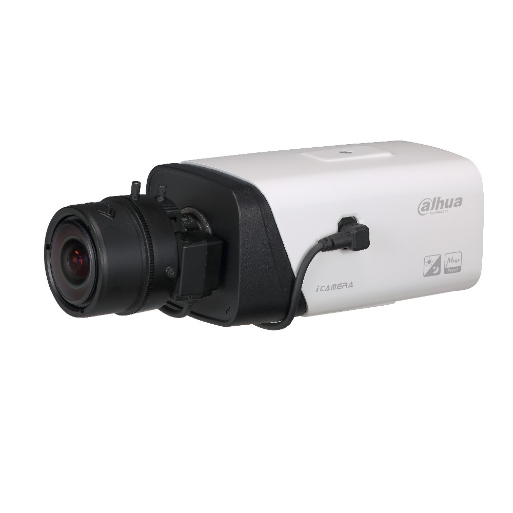 DAHUA 4MP Full HD Network Box Camera with Alarm and POE Original English Version without Logo IPC-HF5421E