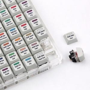 Image 3 - R3 KBDfans Ssuper 72 commutateurs testeur tout en un avec XDA colorant sub keycaps