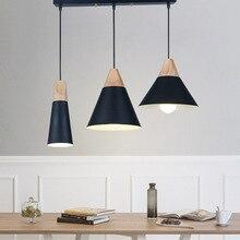 Couleur européenne lustre créatif LED lustre salon chambre salle à manger suspendus ligne éclairage 220V en aluminium