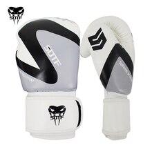 лучшая цена SOTF mma Adults Venomous snake Men Women geometric boxing gloves glove box Tiger Muay Thai sanda pads fight gloves boxers mma