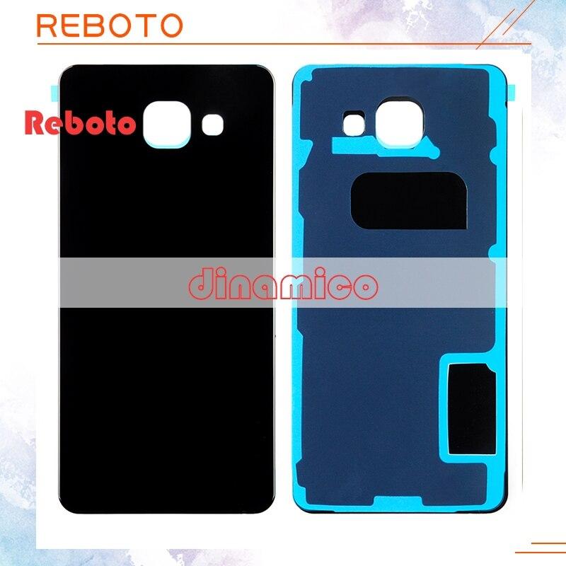 Reboto 1 pcs Nouveau A510 Logement Couvercle En Verre Pour Samsung Galaxy A5 2016 Couverture Arrière Cas A510 SM-A510F A510FD Batterie Arrière porte