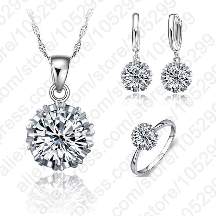 Wedding 925 Sterling Silver...