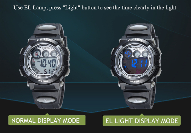 OHSEN Fashion Children Sports Watches Waterproof 5ATM Kids LED Digital Watch Student Outdoor Hand Electronic Clock Montre Femme (41)