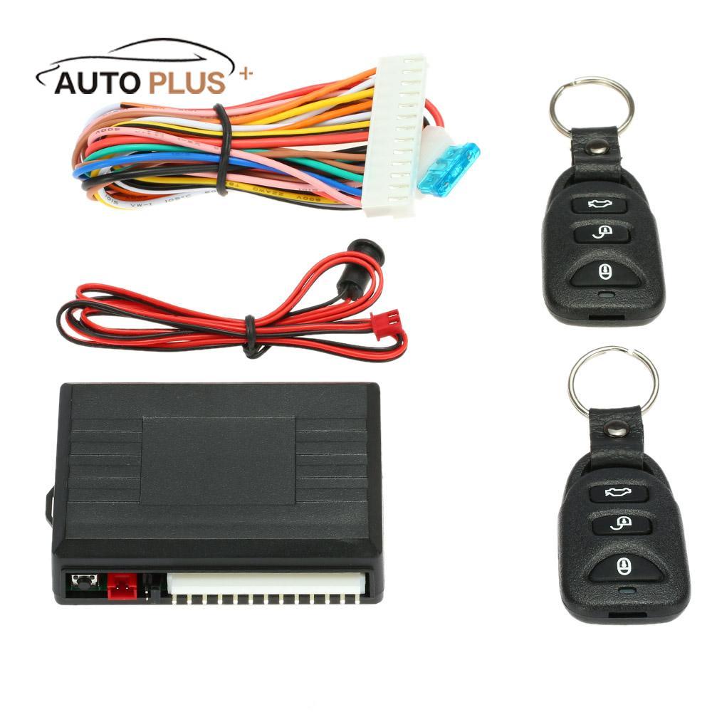 Universal Car Remote Control Key Central Door Lock Locking Keyless Entry System