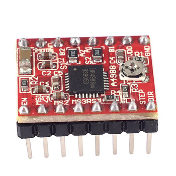 3pcs per lot Reprap Stepper Driver A4988 Stepper Motor Driver Module 10pcs lot drv8825 stepper motor driver reprap carrier reprap 4 pcb board replace a4988 for 3d printer stepstick