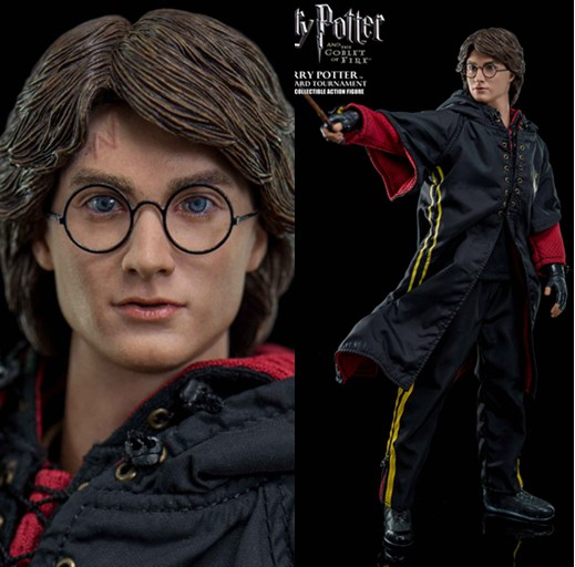 1/6 scale Figure doll Harry Potter and the Goblet of Fire Tri-wizard Tournament.12 action figures doll.Collectible figure gift patrick reed took the 57 million hyundai tournament of