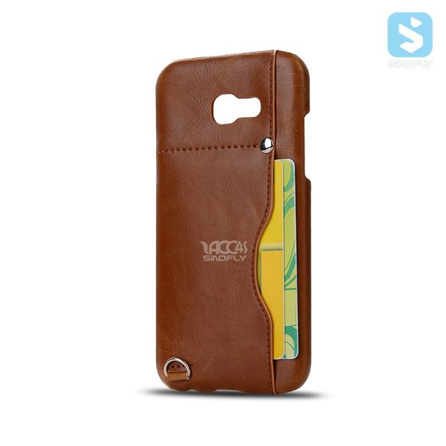 Crazy horse pu leather snap on case for samsung galaxy a5 2017 case crazy horse pu leather snap on case for samsung galaxy a5 2017 case business card holder colourmoves