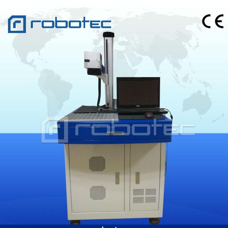 China Laser Promotion 20W Ear Tag Fiber Laser Marking Machine Price