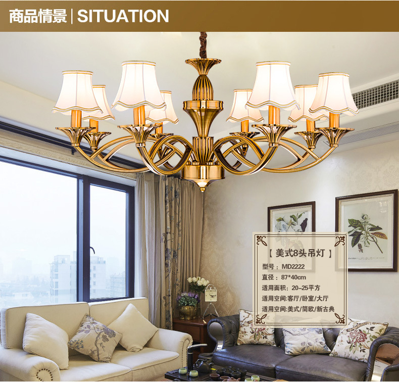 6 and 8 lights fashion contemporary lighting chandelier, Featured Modern Simple Light For Home House Room