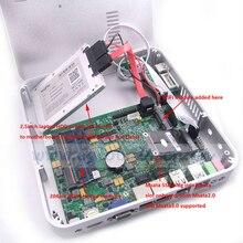 Moins cher petit ordinateur avec petit PC Intel Celeron 1037U 1.8 ГГц без ventilateur Мини-Неттоп 2 ГБ DDR3 Ram 1 ТБ HDD PC