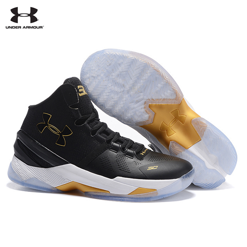 new concept 575a0 17779 UNDER ARMOUR UA Classic Men's The Curry Two V2 On Feet ...