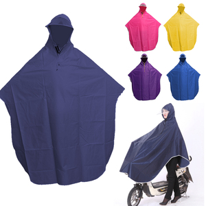 Cycling  Motorcycle Raincoat Mens Womens Rain Coat Poncho Hooded Windproof Rain Cape Mobility Scooter Bicycle Cover|Raincoats| |  -