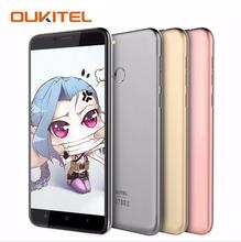 "OUKITEL U20 Plus 4G DEJÓ Huellas Digitales 5.5 ""MTK6737T FHD Smartphone Android 6.0 Quad Core 2 GB + 16 GB de Doble Cámara de 13MP Teléfono Móvil"