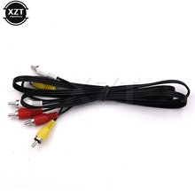Newest 1080P HDTV HDMI Triple Male to 3 RCA Composite Audio Video AV Cable Cord Adapter 5 FT 1.5m