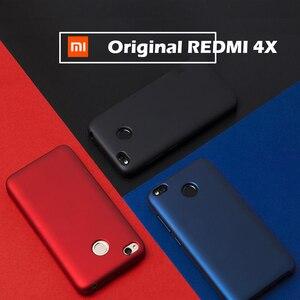 Image 4 - Original Xiaomi Redmi 4X Case 5.0 Luxury Slim PC+ inner soft Velvet fiber Cover Cases For Xiaomi Redmi 4x Pro Phone Bag