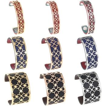 Legenstar Bracelets & Bangles Women Leather Bracelets Pulseira Masculina Jewelry Charm Bileklik Pulseiras Boyfriend Girlfriend