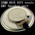 Wearing sports earhook headphone speakers EM7 hi-fi vocals high impedance fever 35mm speaker unit