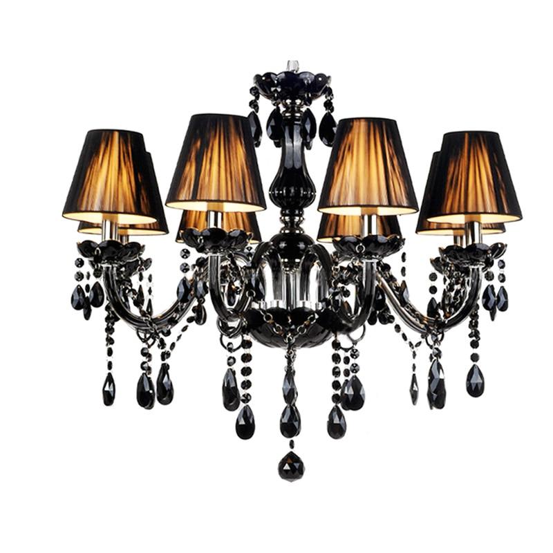 6Free Shipping Led Crystal Chandelier Lights Lights 6 8 10