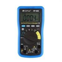 HoldPeak Digital Multimeter HP 90E Auto Range Digital Multimeter DMM CapHZ Temperature Meter Battery Tester LCD Backlight