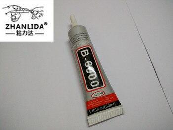 f81bfdd23d8 Pegamento de estrás ZHANLIDA B6000 50 ml Similar E6000 sellador para  joyería de cristal de estrás móvil B-6000 pistola de pegamento UV
