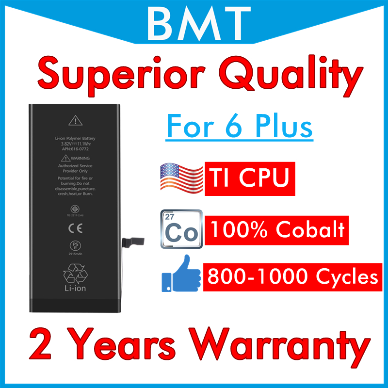 UPS 13-Battery IPhone 6plus Superior-Quality 6--Replacement DHL For 6--replacement/100%cobalt-cell/Ti-cpu/Can-mix-order