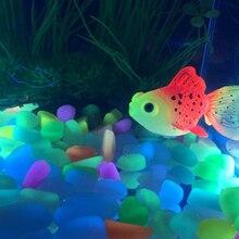 Glow In The Dark Aquarium decoration Goldfish - 4 per Pack