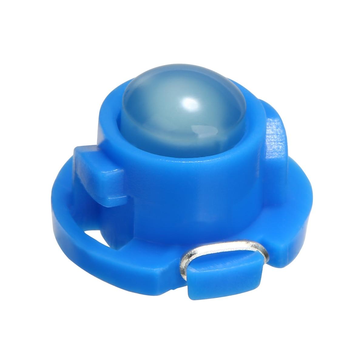 New Arrival 10pcs T4.7 Blue LED Instrument Light 12V Dashboard Climate Control Light Bulb