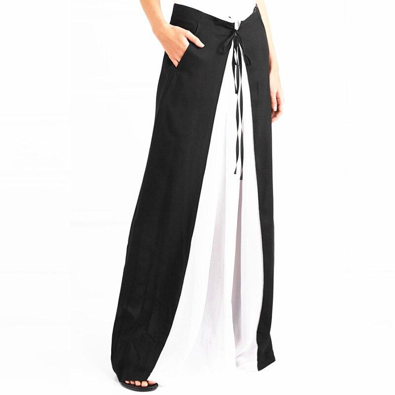 Dama Faldas Pic Suelta Playa Gasa Capas Alta 2019 Cintura Blanco Elástica Euro Bohemia Nuevo De Mujeres Dividir Falda Negro Maxi Las As HUa1qf