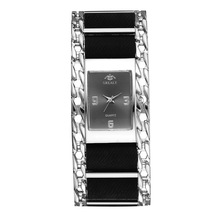 цены на Women's Watch Fashion Vintage Alloy Bracelet Watch Upscale Business Canvas Strap Quartz Watch for Women Gift  в интернет-магазинах