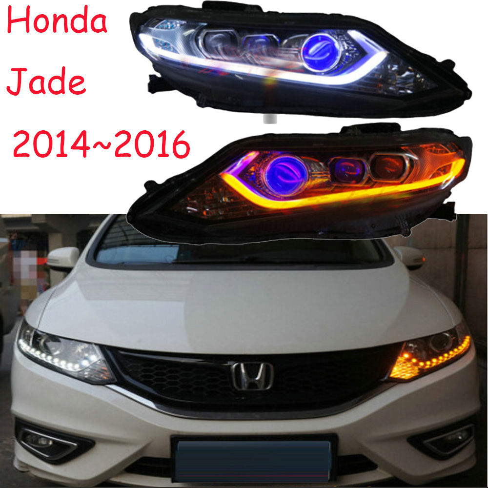 2014~2016,Car Styling for Jade Headlights,HID,insight,MDX,Passport,ridgeline,pilot, Delsol,Jade head lamp