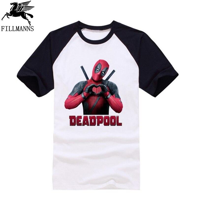 ᐅCasual camiseta deadpool fresco en el diseño de la camiseta del ...