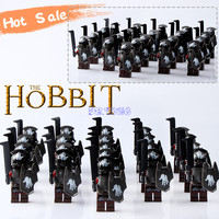 21PCS Lot Medieval Castle Knights Hero Of Sparta The Lord Of The Rings Mini Building Blocks